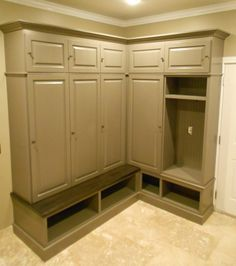 Mudroom Lockers from our shop! #HomeEnergyResources