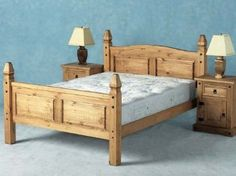 Home Comfort Corona Mexican 5ft King Size Bed Frame: Amazon.co.uk: Kitchen & Home