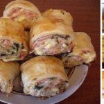Strudel with ham and cheese Slovak Recipes, Czech Recipes, Russian Recipes, Ethnic Recipes, Cheese Recipes, Seafood Recipes, Chicken Recipes, Food Network Recipes, Cooking Recipes