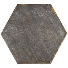 Merola Tile Retro Hex Cendra 14-1/8 in. x 16-1/4 in. Porcelain Floor and Wall Tile (10.76 sq. ft. / case) FNURTXCN at The Home Depot - $11/SF