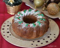 Christmas cake, deco