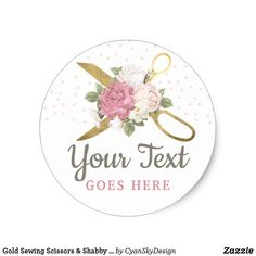 Set of 60 Custom Stickers Western Feathers and Roses Boho Style Personalized Labels Custom Labels Personalized Stickers
