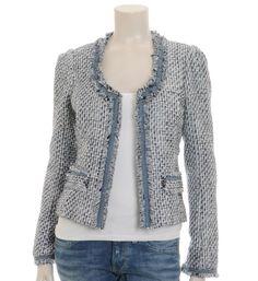 Maison Scotch Chanel jasje / blazer. Nieuwsgierig naar de laatste nieuwe trends van Maison Scotch dameskleding? Neem een kijkje @ http://www.nummerzestien.eu/maison-scotch/