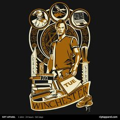 Sammy | $10 Supernatural tee from RIPT today only!