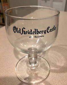 Old Heidelberg Castle Sarasota Florida, Wine Glass, Castle, Tableware, Heidelberg, Dinnerware, Dishes, Castles, Wine Bottles