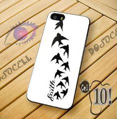 Demi Lovato birds and faith tattoo phone case ♥