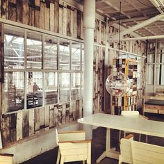 Piet hein eek showroom/work studio Eindhoven Holland