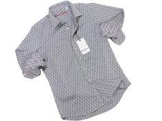 Boy's Sport Shirt 21292 Grey Jaquard Check #boyssuits #heritagehouse #goodvibes #RobertGraham