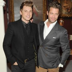 Celeb couple Nate Berkus and Jeremiah Brent got engaged atop one of the most gorgeous historic tourist spots in the world: Machu Picchu.  Photo: Neil Rasmus/BFAnyc