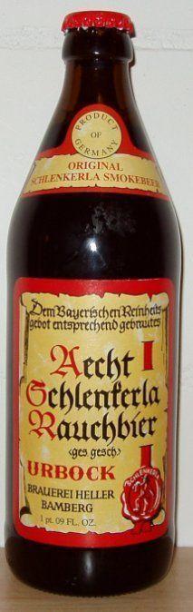 Aecht Schlenkerla Rauchbier Urbock - Smoked