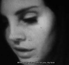 Lana Del Rey #LDR #Pretty_When_You_Cry #GIF
