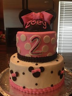 Cat's Cake Creations: Minnie Mouse Birthday Cake