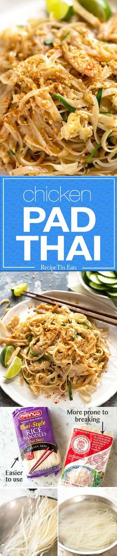 Everyday Chicken Pad Thai (but not a basic Westernised version, this is takeout quality)