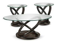 Accent and Occasional FurnitureAtomic 3 Pc Table Set Leons