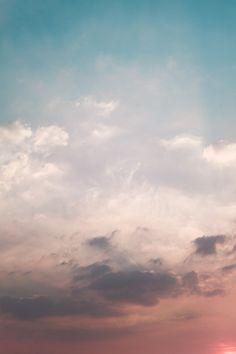 Sunset #pink #clouds #sky