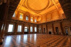 visit Wentworth Woodhouse tour Marble Saloon Marble Hall
