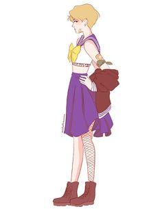 she is the one named sailor meme — lumpalindaillustrations: ✨☄️ Sailor Uranus ☄️✨