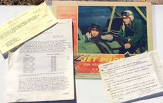 FROM HOWARD HUGHES 1957 FILES, JET PILOT MOVIE POSTER, TELEGRAM & RKO CONTRACT #WesternUnion