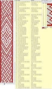 Картинки по запросу Birka tablet weaving patterns