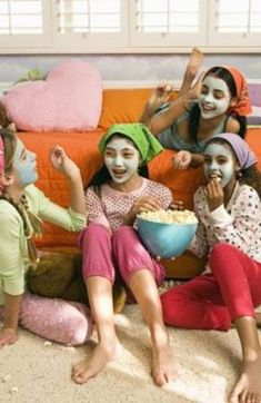 Slumber Party Games & Ideas for 11-Year-Old Girls   eHow