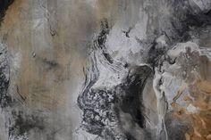Große Moderne Malerei Auf Leinwand, Abstrakte Kunst, Braun Schwarz Malerei,  Lobby Kunst, Büro Malerei, Wohnzimmer Wand Kunst, Quadratischesu2026
