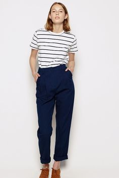 high waist, pleated and oh so flattering. these tailored gems will have you covered in the office and out on a hot date showing off an itty bitty waist. cuff...