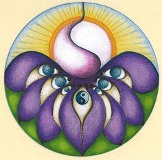 Zee In Zicht - Mandala tekenen | #mandala #art