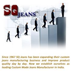 #SQJeans is a leading #CustomMadeJeans Manufacturer. Press here www.sqjeans.com/aboutus.html for more about us.