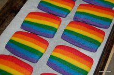 Rainbow Party - Baking Rainbow Cookies