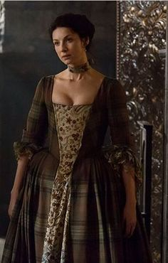 outlander claire's 18th centure clothes - Google Search