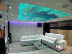 Techos Tensados (y paredes) | techosled Flat Screen, Ceilings, Pictures, Blood Plasma, Flatscreen, Dish Display
