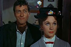 Mary Poppins Pictures and Movie Photo Gallery -- Check out just released Mary Poppins Pics, Images, Clips, Trailers, Production Photos and more from Rotten Tomatoes' Movie Pictures Archive! Julie Andrews Mary Poppins, Mary Poppins Book, Mary Poppins And Bert, Mary Poppins 1964, Matthew Garber, Rhyming Slang, Disney Cats, Angela Lansbury, Walt Disney Pictures
