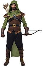af0c540d98e DIY Handmade kids Robin Hood and Friar Tuck Halloween costumes ...