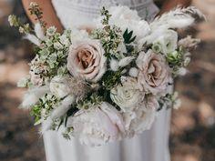 Blush Peonies, Blush Pink, Peony, Floral Wedding, Fall Wedding, White Anemone, Blush Bouquet, Dendrobium Orchids, Spring Wedding Inspiration