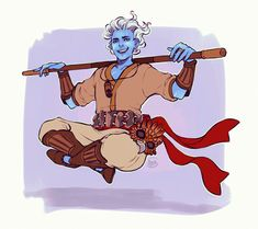 Nakali, Air Genasi Way of the Four Elements Monk, Remastered, Wind/Air themed. Art by the amazing Fantasy Character Design, Character Creation, Character Drawing, Character Design Inspiration, Character Concept, Dungeons And Dragons Characters, Dnd Characters, Fantasy Characters, Dnd Races
