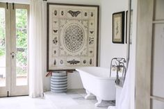 Carolyn Murphy's dreamy bathroom