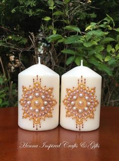 Indian Wedding Favors, Gifts For Wedding Party, Party Gifts, Wedding Favours, Henna Candles, Candle Art, Personalized Photo Gifts, Baby Shower, Candle Making