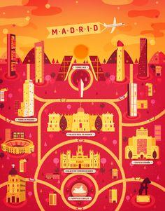 Galeria - Arte e Arquitetura: a ilustração de cinco cidade e seus atrativos por Aldo Cusher - 11