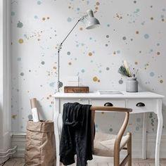 I dag bjuder vi på lite inspiration till arbetsplatsen #wallpaper