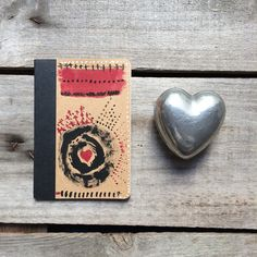 This small traveler's notebook is perfectly sized for any journey and makes a great handmade stocking stuffer!