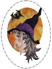 Quilt - Hazel the Witch Wall Hanging Pattern - #429323