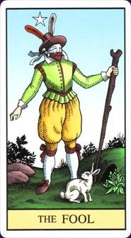 The Fool from the Alchemical Tarot Renewed