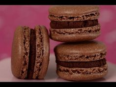 Recipe here: http://www.joyofbaking.com/frenchmacarons/ChocolateMacaronsRecipe.html Stephanie Jaworski of Joyofbaking.com demonstrates how to make Chocolate Macarons. I've found that once you start making French Macarons you become addicted to them. They have so much going for them. They look gorgeous, they taste divine, and you get a real sense...