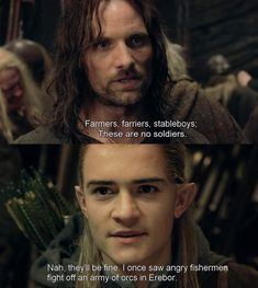 I'm pretty sure legolas remembers Aragorn, Gandalf, Legolas, Movie Memes, Book Memes, Tolkien, Bagginshield, Concerning Hobbits, Funny Quotes