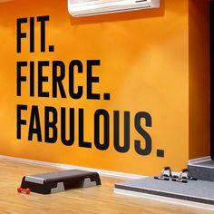 Gym Decor, Gym Wall Art, Gym Stickers, Gym Decals Workout Room Home, Workout Rooms, Wall Stickers, Wall Decals, Gym Decor, Gymnasium, Geometric Wall Art, Unique Wall Decor, At Home Gym