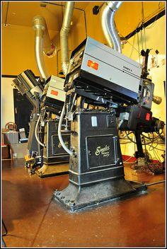 Simplex 35mm Film Projector