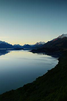 Lake Wakitipu, Otago, New Zealand
