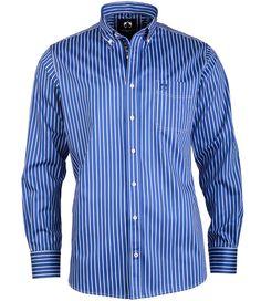 #Herrenhemd im trendigen Streifenlook