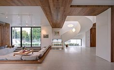 Modern And Warm Mansion Interior Inspiring Serenity in Australia