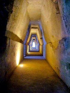 Cave of the Sibyl - Antro della Sibilla – Monte di Cuma, Italy | Atlas Obscura